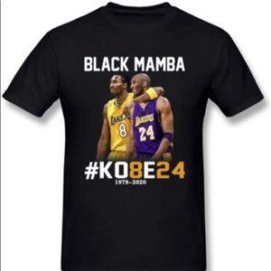 Kobe 8 and 24 Our hero Black Mamba T-shirt